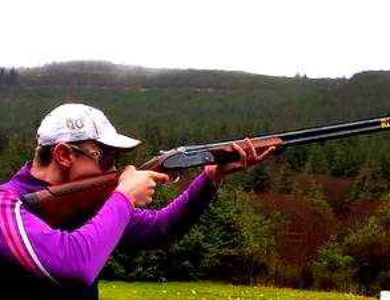 """Clay Target Shooting  """"Lazy Dog""""  Co. Limerick"""