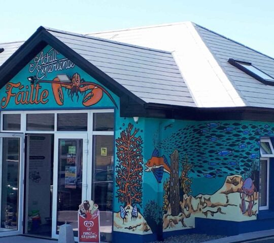 Achill Experience ,Aquarium and Visitor Centre.  Co. Mayo